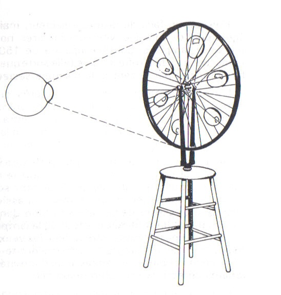 élément réflecteur de la roue